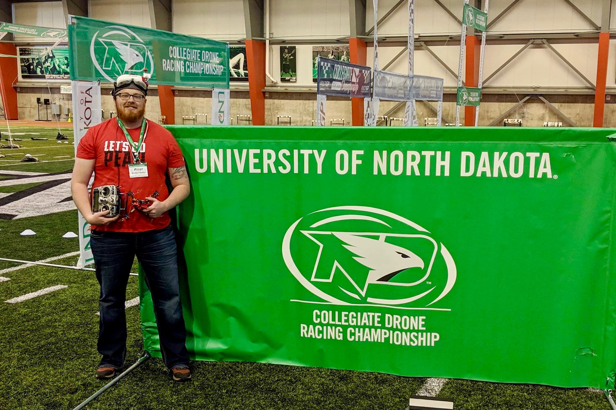 APSU's Hunter finishes 22nd overall at drone racing nationals