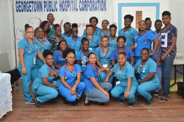 Nurses in Guyana