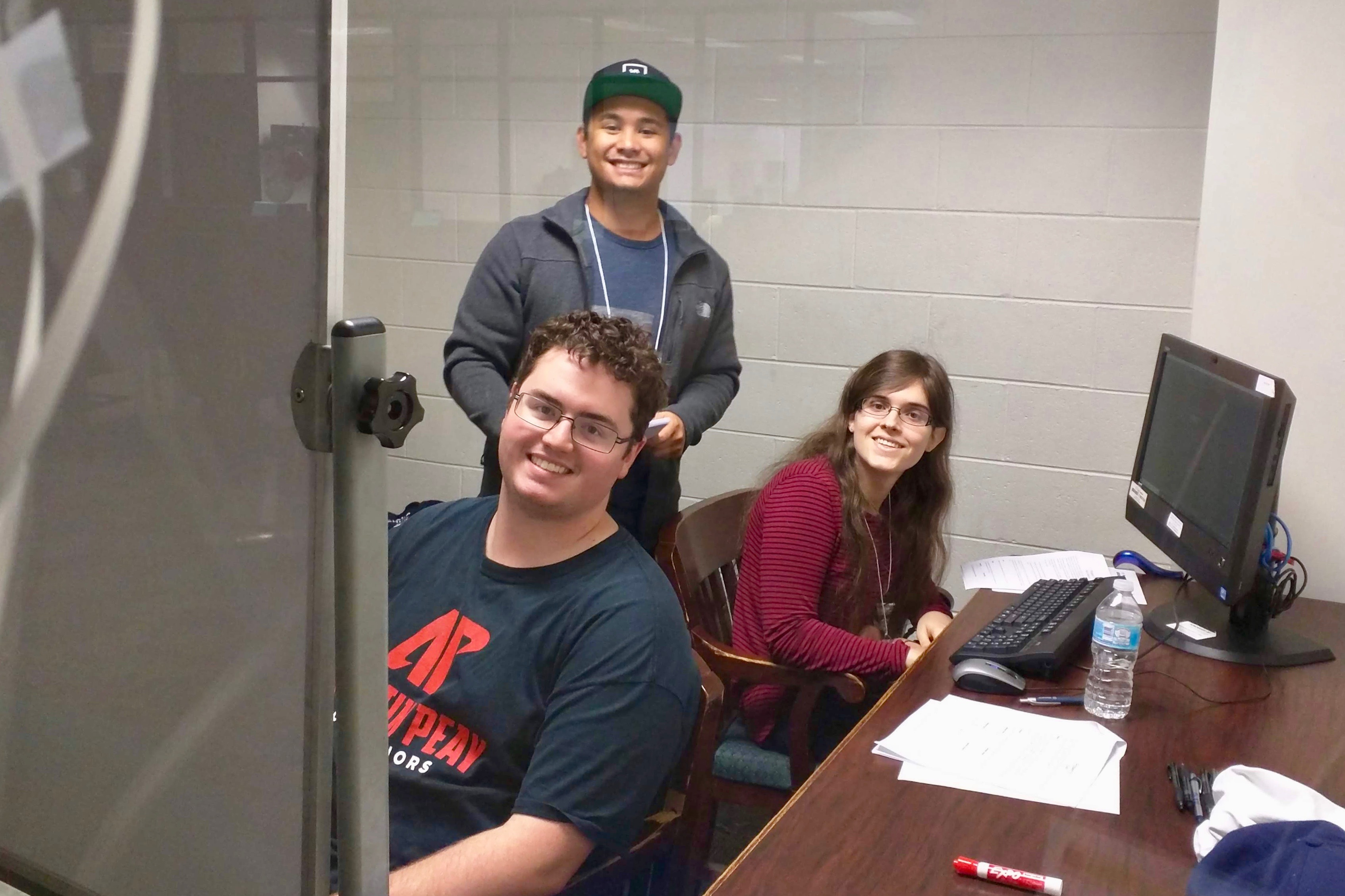 Austin Peay student team 'null' zeroes in at speed programming contest