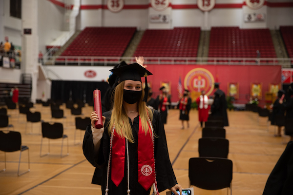 Happening today: The first of seven commencement ceremonies this week