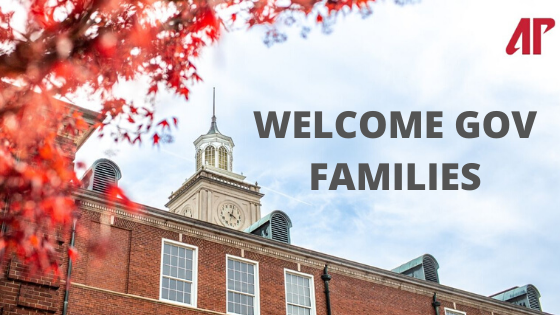 Welcome Gov Families