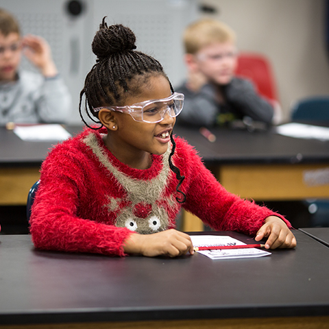 School age children learn at Austin Peay