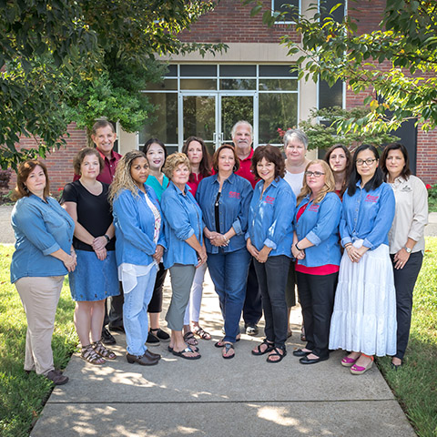 College of Education faculty group photo