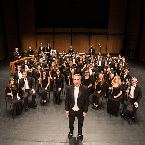 Group photo of wind ensemble