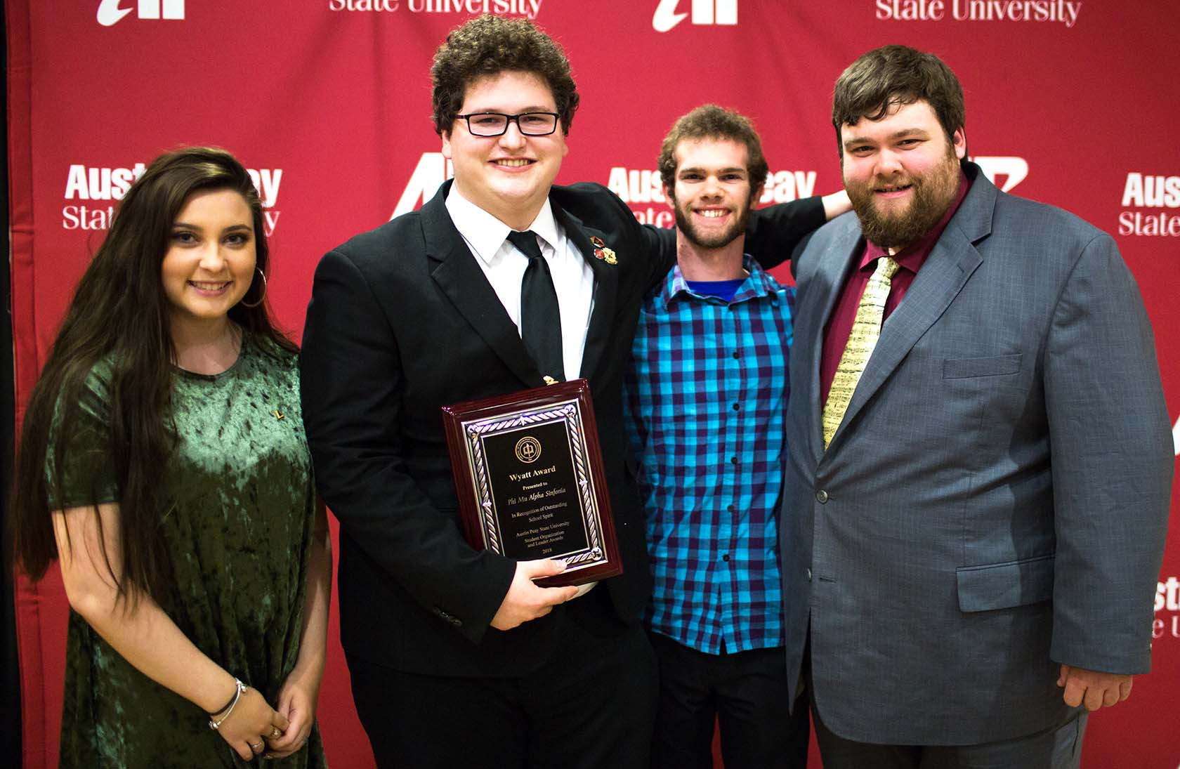 Phi Mu Alpha wins Wyatt Award