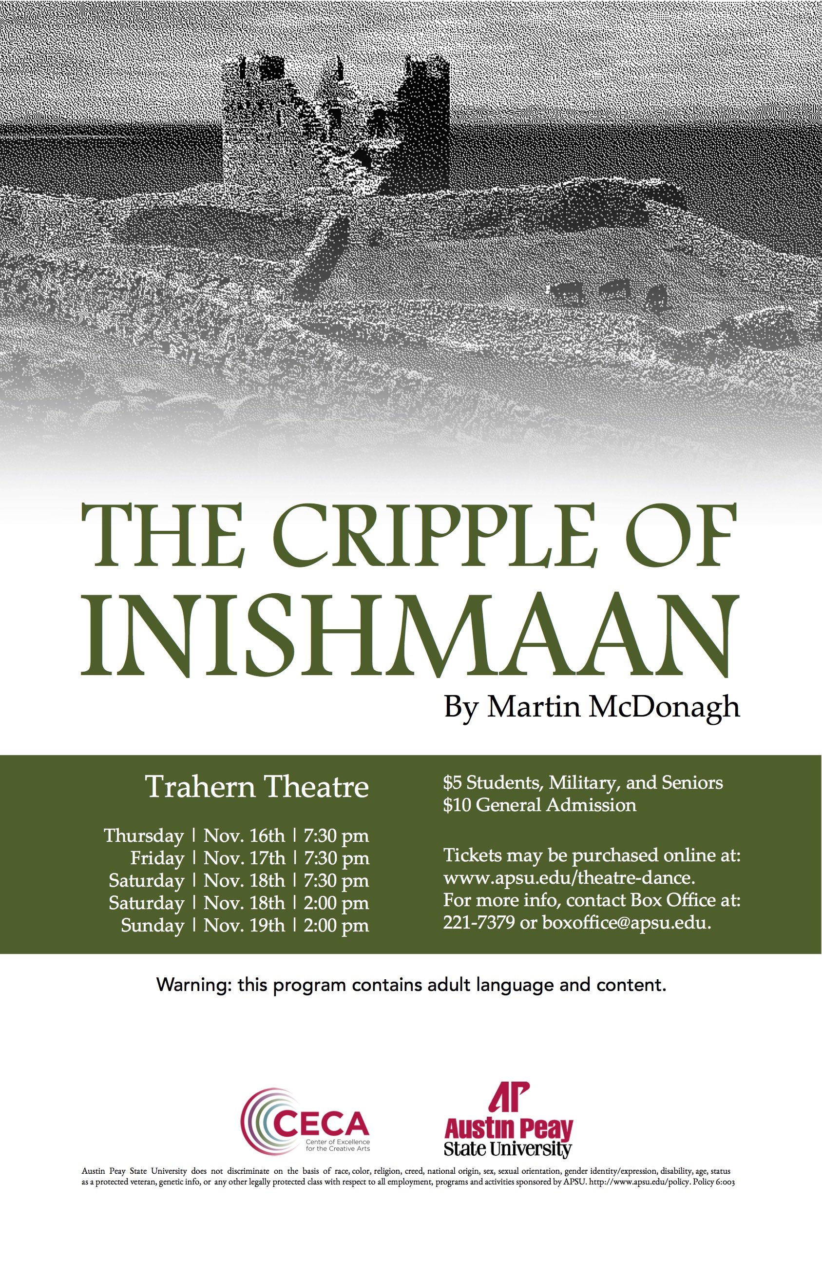 Cripple of Inishmaan Poster