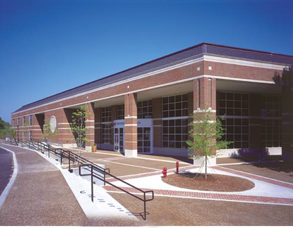 Exterior image of the University Center